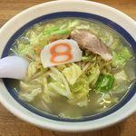 8番らーめん  - 料理写真:野菜ラーメン塩