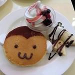 テ ニナス - 申のパンケーキ
