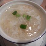 杏花楼 - フカヒレ海老スープ