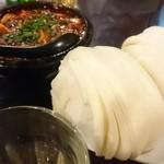 46378930 - 花巻と麻婆豆腐