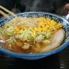 尾浦 - 料理写真:あっさりしょうゆコーンラーメン800円