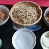 ばくの家 - 料理写真:十割蕎麦 三種