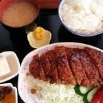 味処 東 - ソースカツ定食 880円