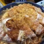 徳仙  - カツ丼大盛り
