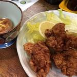 徳仙  - 地鶏の唐揚げ