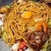 かく庄 - 料理写真:デラックス焼そば