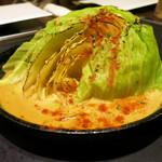 京ちゃばな - 焼きキャベツのクリーミーポルチーニ茸ソース 580円