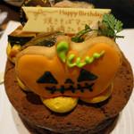 京ちゃばな - 選んだ日が誕生日ということでケーキ持込……