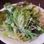 オルシックスティシックス - ランチセットのサラダ
