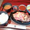 グリル山 - 料理写真:ハンバーグステーキ