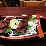 酒蔵新潟 - 鹿刺し1,000円