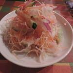オリエンタル デリ - ランチのサラダ