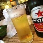 ヒーリングヴィラ 印西 - アジアンビール!インドネシア産のビンタン 税抜き¥580