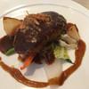 マルヤママッシュルーム - 料理写真:ハンバーグ150グラム デミソース