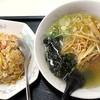 大竜 - 料理写真:ラーメンセットC_800円
