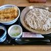 十割そば会  - 料理写真:まかない十割そばセット(冷たい蕎麦+いか鶏天丼)861円