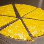 広島お好み焼き おこたろう - チーズ焼き