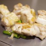 広島お好み焼き おこたろう - 大山鶏の塩焼き