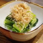 広島お好み焼き おこたろう - 広島菜