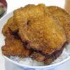 とんかつ太郎 - 料理写真:特製カツ丼1380円+味噌汁100円(税込み)