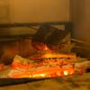 岡山 長楽亭 - 料理写真:炉窯で焼くお肉