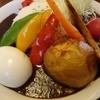 ニセコ・アワグラス - 料理写真:秋だけの、「収穫菜カレー」※数量限定! 半熟ゆで玉子をトッピングしてみました~♪