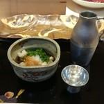 鮨 安東 - 対馬の牡蠣酢&獺祭