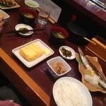 味の正福 - 2人共 一緒の定食♡