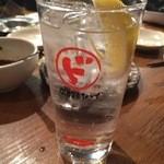 SL酒場 - ド炭酸生レモン酎ハイ 400円