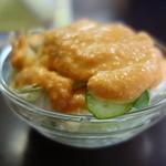 インド料理 ビシュヌ - セットメニューのサラダ