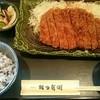 かつ兵衛 - 料理写真:ジャンボロースカツ定食(税込み1684円)