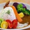 パスタ屋barca - 料理写真:三河天然猪モツとたっぷり野菜のカレー