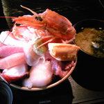 零 - 料理写真:海鮮丼(1,500円)