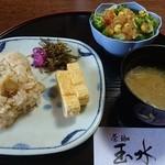茶珈玉水 - 料理写真:和食どりんく+200円