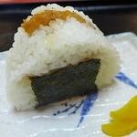 双葉屋 - 小エビの天ぷらが入った「天むす」