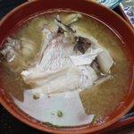 民宿さかや - 鯛の味噌汁