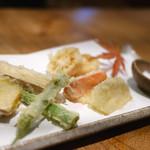 46472490 - 「野菜の天ぷら」 2015年11月