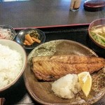 46477063 - サバ塩焼き定食 ¥850