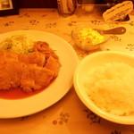 プリモぐりる - 淡路鶏のチキンカツセット