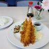 キャッスル食堂 - 料理写真:エビフライ定食