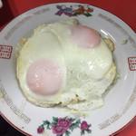 中華そば とん兵衛 - 目玉焼き  2016平成28年1月15日(金)