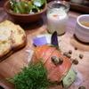 ケヤキカフェ - 料理写真:金華スモークサーモンとアボカド