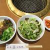 焼肉レストラン ソウル - 料理写真:小ビビンバ、サラダ、キムチ