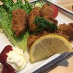 田仲家 - タルタルはないの  マヨネーズとケチャップとソースで食べるよ