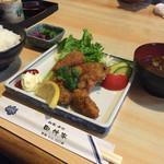 田仲家 - 牡蠣ふらい定食¥650  CPよすぎ!!!!!