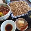 お食事 つかさ - 料理写真:もりそばとまぐろの漬丼セット
