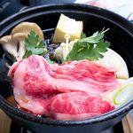 国民宿舎 鵜の岬 - 料理写真:(夕食) Bコース 常陸牛すきやき