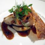 PATINASTELLA - 真鱈と白子のロッシーニ仕立て