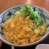 丸亀製麺 - 料理写真:ぶっかけ。麺が見えません。