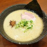 会 - 豚鶏節ラーメンd(^_^o)